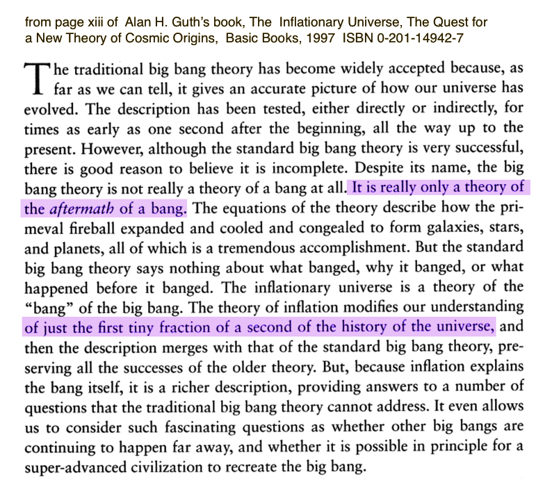The Inflationary Universe - Guth